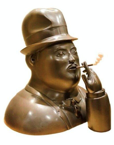 Fernando Botero, 'Smoking Man', 1976