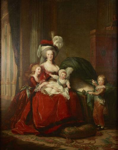 Élisabeth Louise Vigée-Le Brun, 'Marie Antoinette and her Children', 1787