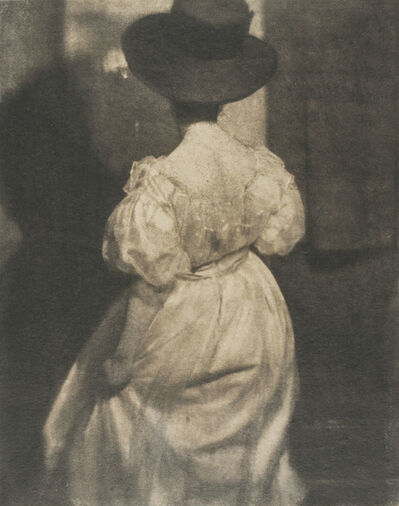 Heinrich Kühn, 'Study in Tonal Values II (Mary Warner)', 1908