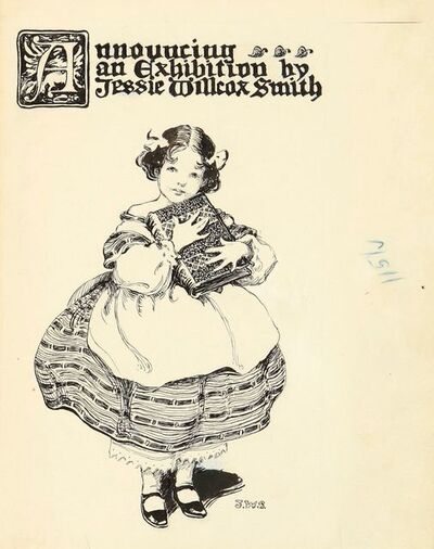 JESSIE WILLCOX SMITH, 'Exhibition Announcement', 20th Century
