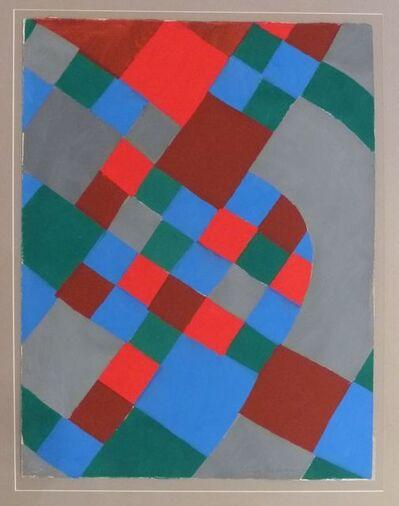 Sonia Delaunay, 'Poésie des mots, Poésie des couleurs ', 1961