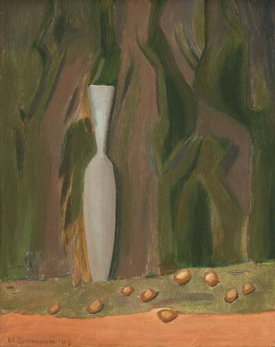 Manierre Dawson, 'Blue Vase and Nuts', 1909
