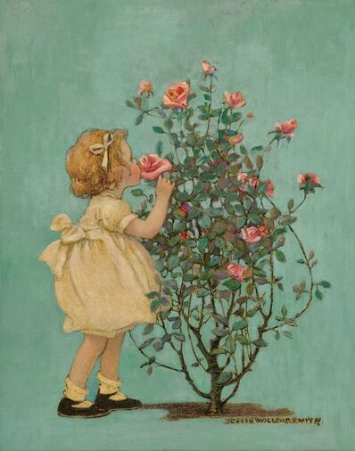 JESSIE WILLCOX SMITH, 'A Rose by Any Other Name', 1924