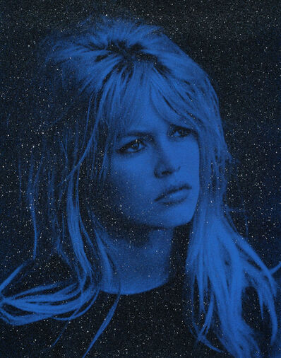 Russell Young, 'BARDOT- ST> TROPEZ ROYAL BLUE', 2017
