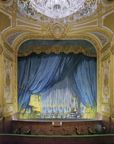 David Leventi, 'Curtain, The Imperial Theatre, Chateau de Fontainebleau, Fontainebleau, France', 2020