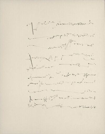 Mirtha Dermisache, 'Untitled', 1970