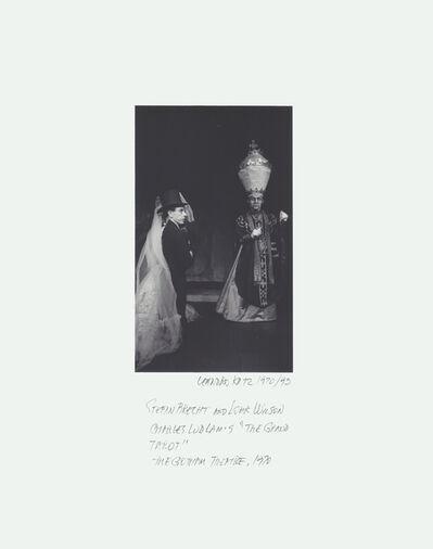 "Leandro Katz, 'Charles Ludlam's ""Eunuchs of the Forbidden City"", Theatre for the New City', 1971-1995"