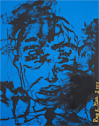 Reginald K Gee, 'Before Rained on Window', 2000
