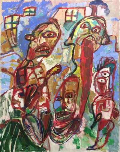 Lucebert, 'Mit achund krach', 1989