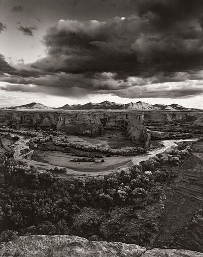 Jay Dusard, 'Weaver Mountains from Canyon de Chelly, Arizona', 1996