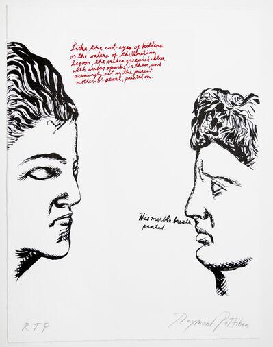 Raymond Pettibon, 'Untitled (Like the Cat-eyes...)', 2018