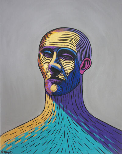 Adam Neate, 'Grey Portrait No. 1', 2020