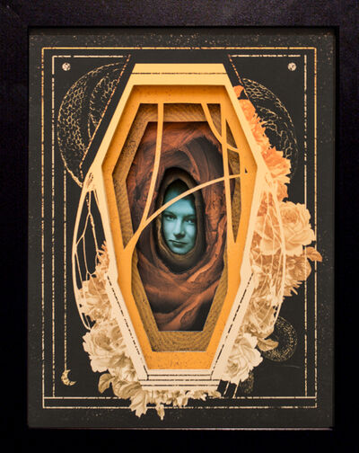 Alex Eckman-Lawn, 'Gilded Casket', 2018