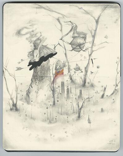 JP Neang, '月の兎 Usagi (On Earth)', 2019