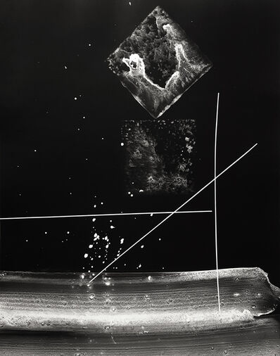Gyorgy Kepes, 'Untitled photogram', ca. 1980