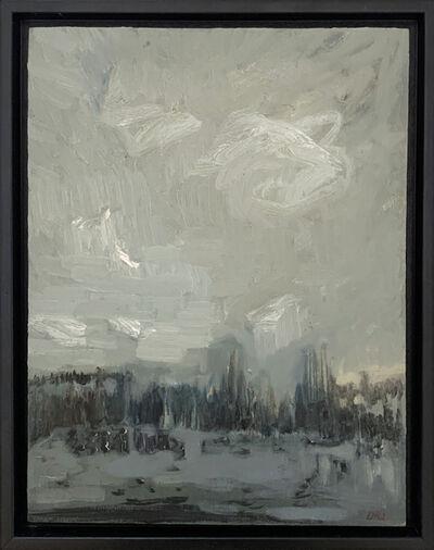 Lisa Johnson, 'Lake - Sudden Rain', 2015