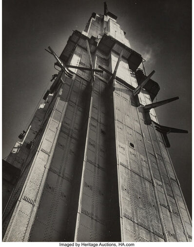 Horace Bristol, 'Tower - Golden Gate Bridge', 1936