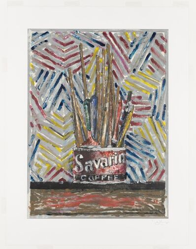 Jasper Johns, 'Savarin ', 1982