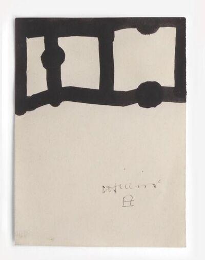 Eduardo Chillida, 'Dibujo Tinta', 1995