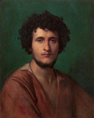 Jean-Léon Gérôme, 'Portrait of a Peasant of the Roman Campagna'
