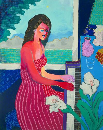 John Holcomb, 'Piano Player', 2018