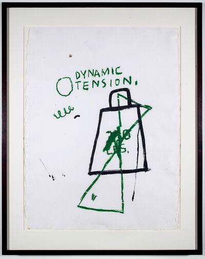 Jean-Michel Basquiat, 'Dynamic Tension', 1982-87