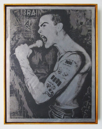 Shepard Fairey, 'Rollins', 2014