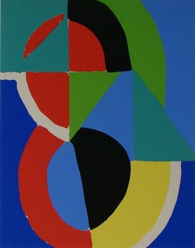 Sonia Delaunay, 'Rythme couleurs', 1955