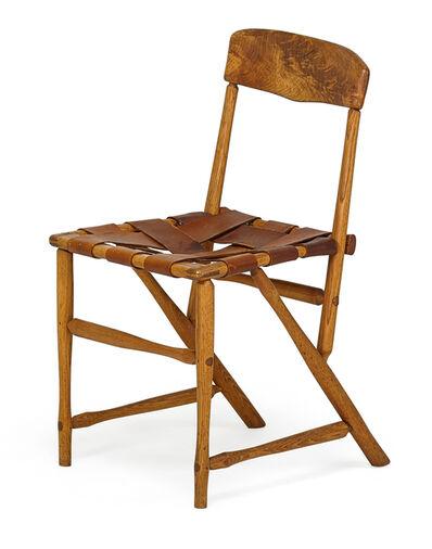 Wharton Esherick, 'Hammer Handle Chair, Paoli, PA', late 1930s