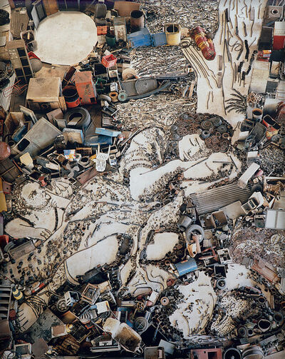 Vik Muniz, 'Diana and Endymion (Detail), after Francesco Mola (from Pictures of Junk)', 2007