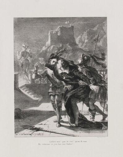 Eugène Delacroix, 'Hamlet: seize sujets dessinés et lithographiés par Eugène Delacroix', 1864