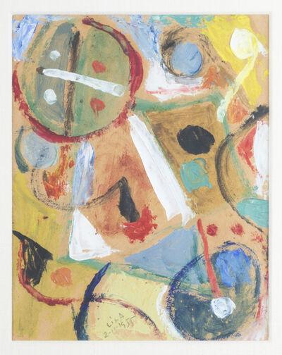 Esteban Lisa, 'Juego con lineas y colores, 2-11-1955', 1955