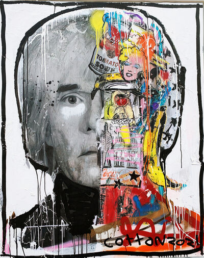Andrew Cotton, 'Andy Warhol', 2021