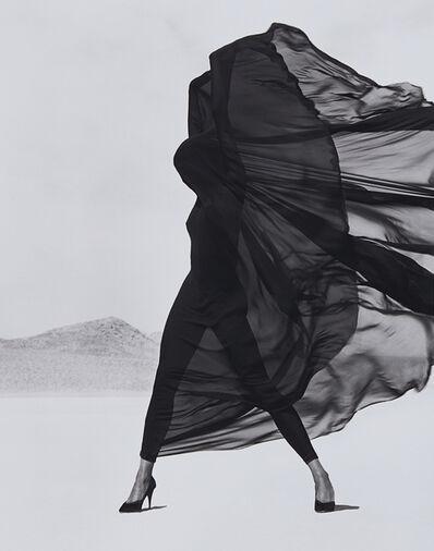 Herb Ritts, 'Versace, Veiled Dress, El Mirage', 1990