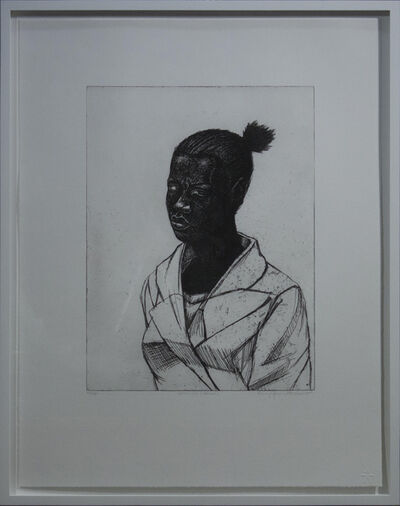 Kerry James Marshall, 'Untitled (Woman)', 2017