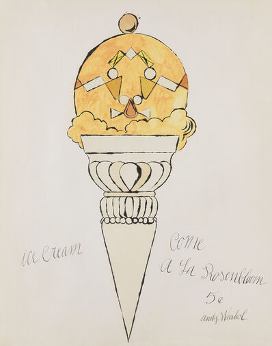 Andy Warhol, 'Ice Cream Cone', 1959