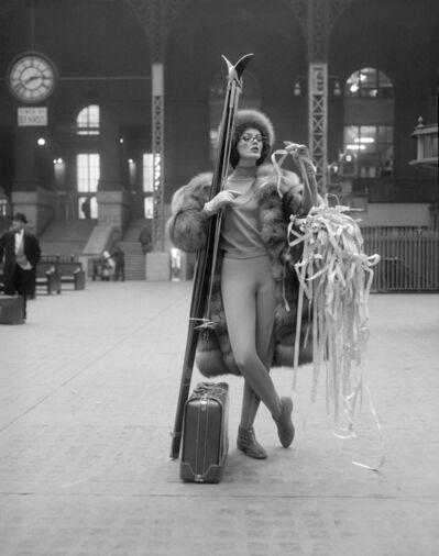 William Helburn, 'Ticker Tape: Linda Harper, Penn Station', ca. 1958