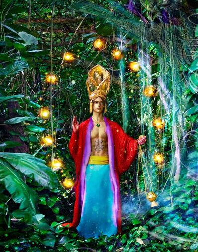 David LaChapelle, 'Beautiful rituals in nature's cathedral', 2015