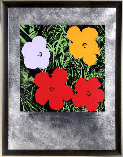Andy Warhol, 'Flowers: Master American Contemporaries II'