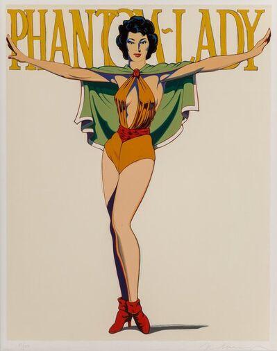 Mel Ramos, 'Phantom Lady (Black)', 1990