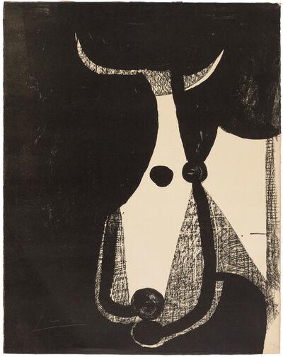 Pablo Picasso, 'Tête de taureau, tournée à droite', 1948