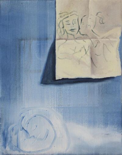 Madeleine Roger-Lacan, 'Secret bleu', 2020