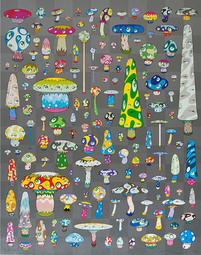 Takashi Murakami, 'Posi Mushroom', 2002