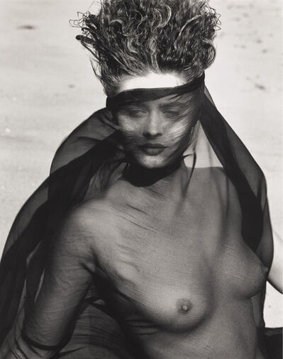 Herb Ritts, 'Consuelo, Face and Torso, Paradise Cove, CA', 1984