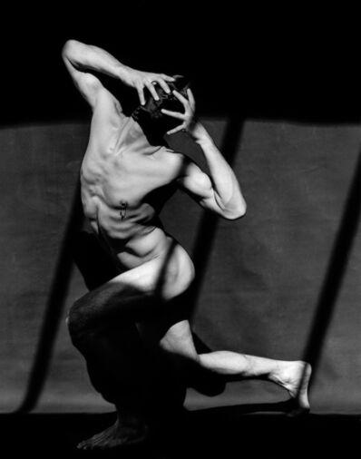 Greg Gorman, 'Tony Ward with mask #4, Los Angeles', 1990
