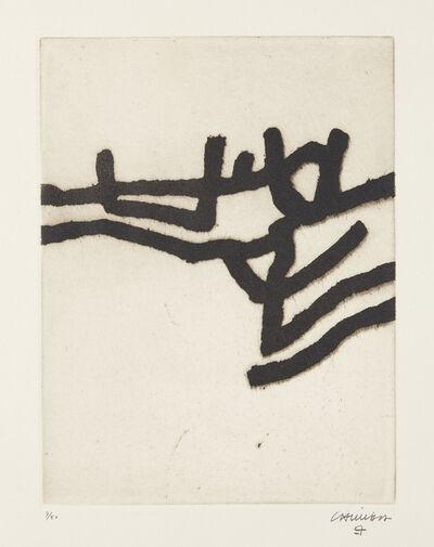 Eduardo Chillida, 'Ibili II (Walk II)', 1963