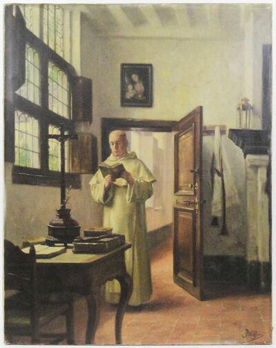 René Janssens, 'Man reading (Homme à la lecture)', Late 19th century-Early 20th century
