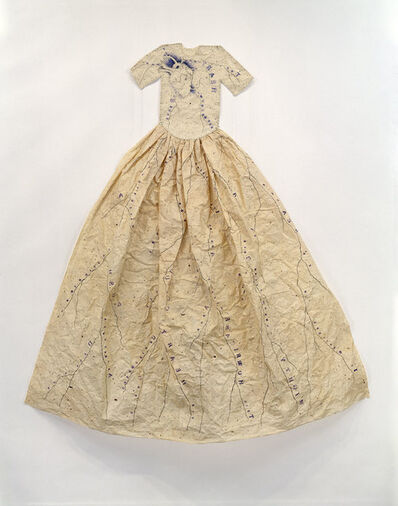 Lesley Dill, 'Poem Dress of Circulation', 1994