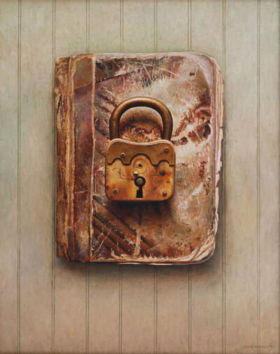 John Whalley, 'Brass Lock', 2019