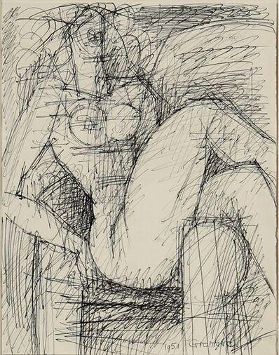 Marcel Gromaire, 'Etude de nu', 1951